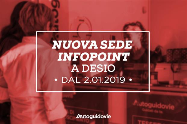 Nuovo Infopoint a Desio
